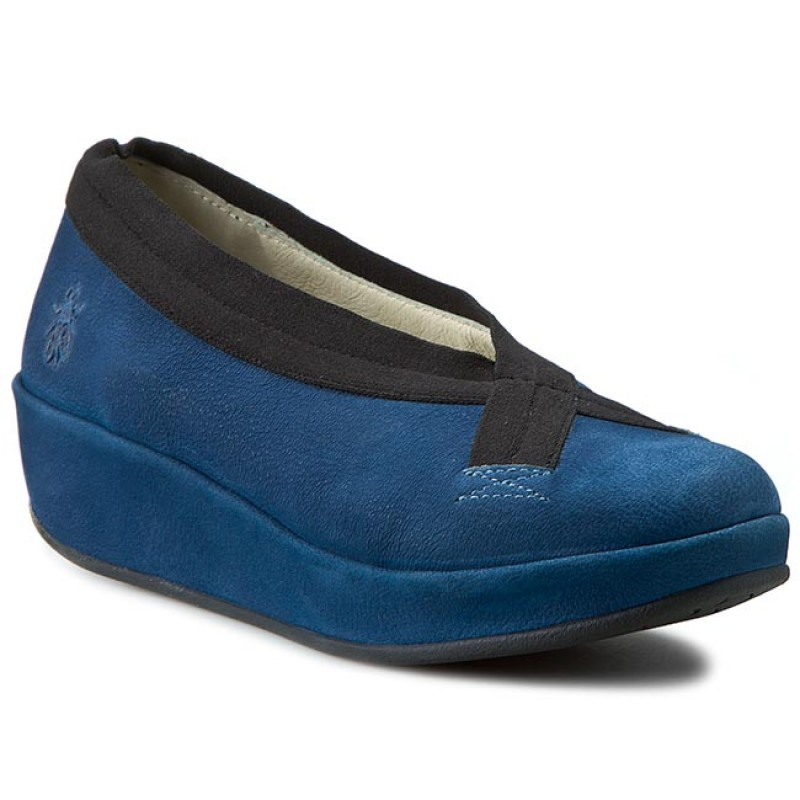 Halbschuhe FLY LONDON-Bobi P500586007 Blue