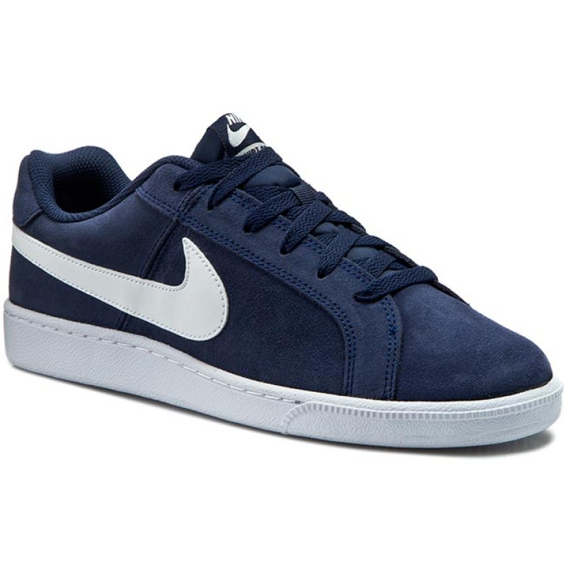 Schuhe NIKE-Court Royale Suede 819802 410 Midnight Navy/White