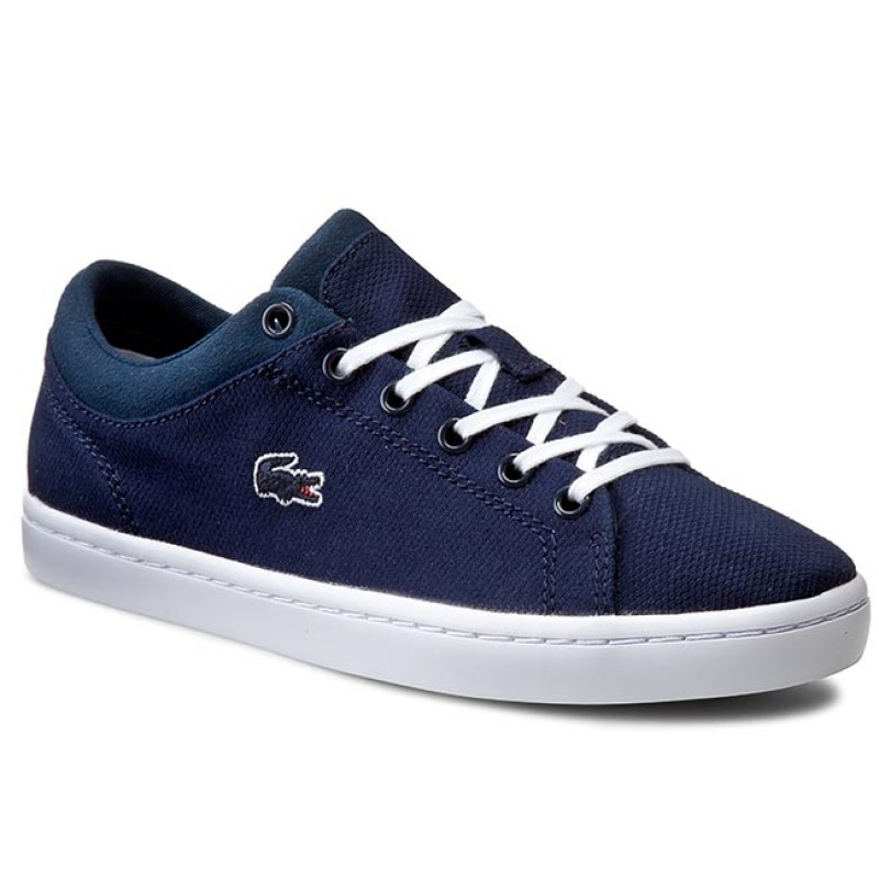 Halbschuhe LACOSTE-Straightset 116 2 Caw 7-31CAW0117003 Navy