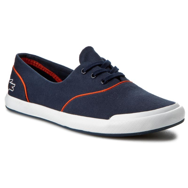 Turnschuhe LACOSTE-Lancelle Lace 6 Eye 216 2 Spw 7-31SPW0045325 Nvy/Org