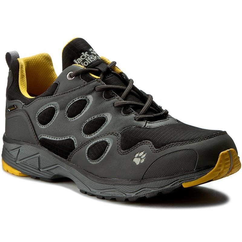 Trekkingschuhe JACK WOLFSKIN-Venture Fly Texapore Low M 4022081 Burly Yellow XT