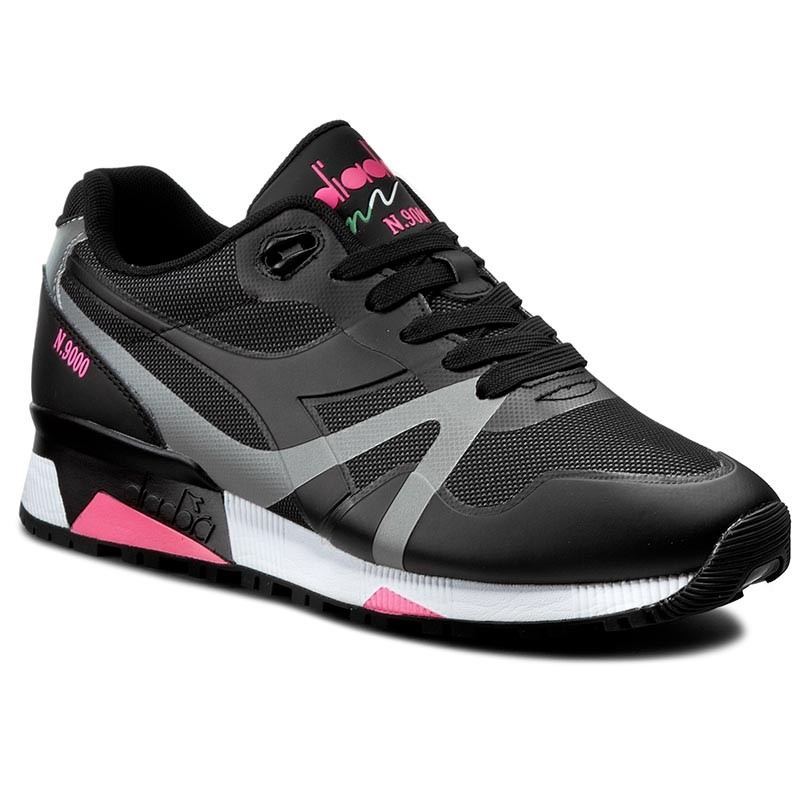 Sneakers DIADORA-N9000 Bright Protection 501171102 01 C466 Black/Pink Fluo
