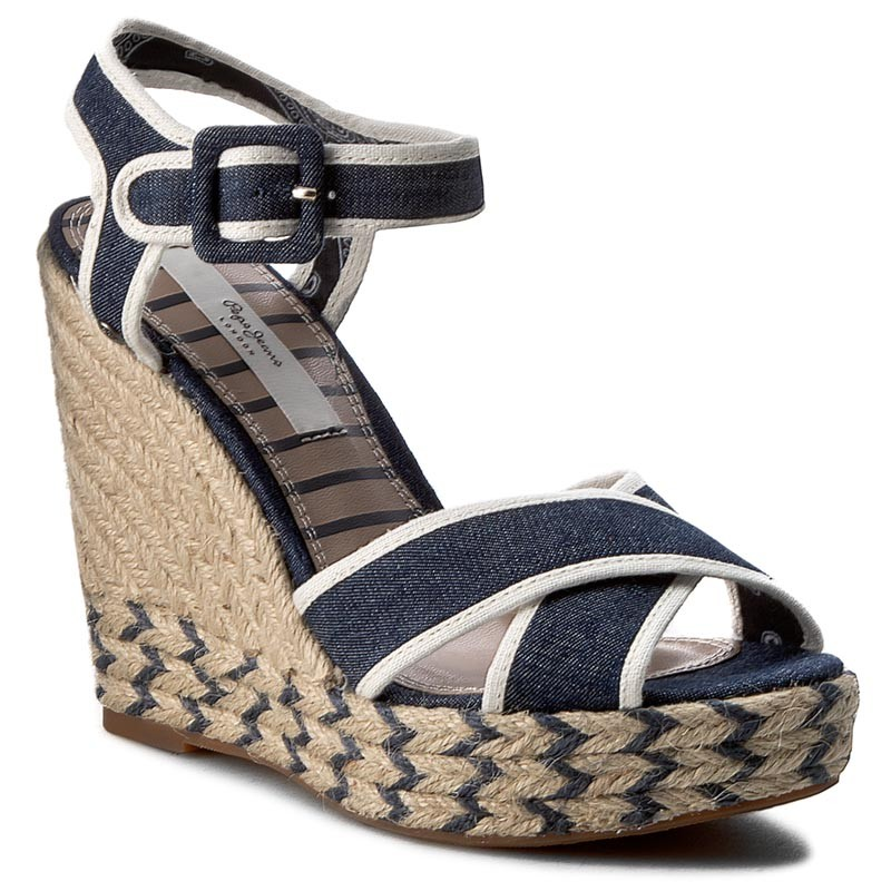 Espadrilles PEPE JEANS-Walker Denim PLS90224  Denim 559