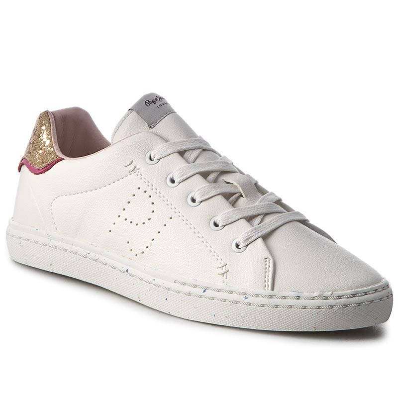 Sneakers PEPE JEANS-Halley Basic PGS30254 White 800
