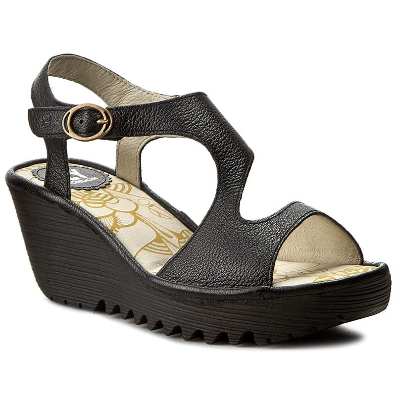 Sandalen FLY LONDON-Yanca P500569000 Black