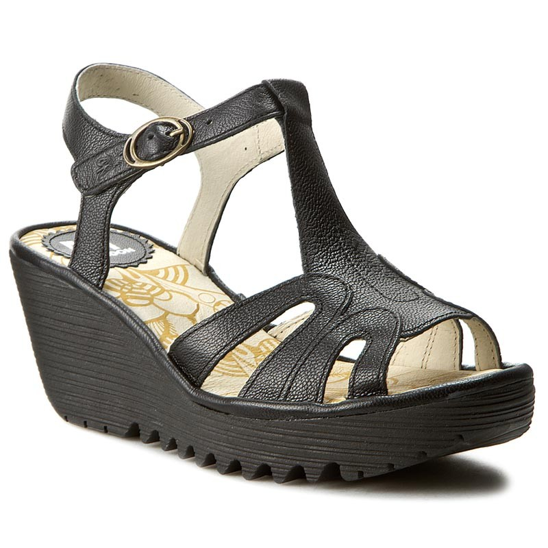 Sandalen FLY LONDON-Yinifly P500727000 Black