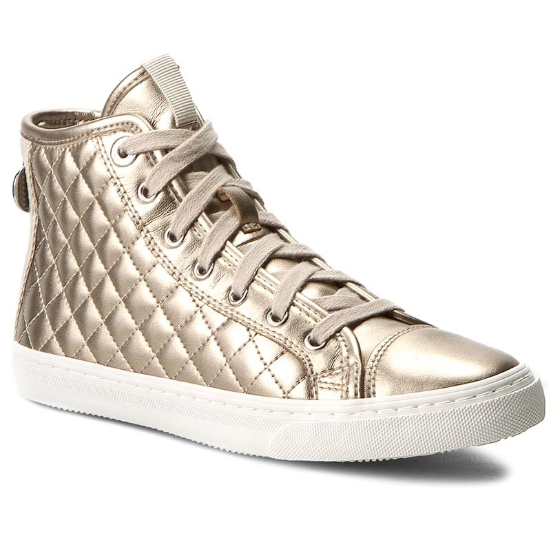 Sneakers GEOX-D CClub A D4258A 000NF CB5H6 Champagne/Lt Taupe