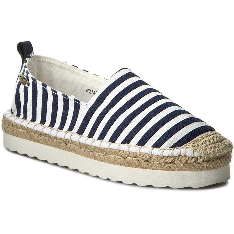 Espadrilles BIG STAR-W274002 White/Navy