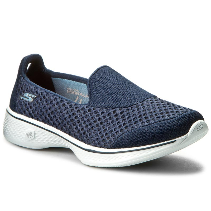 Schuhe SKECHERS-Kindle 14145/NVW Navy/White