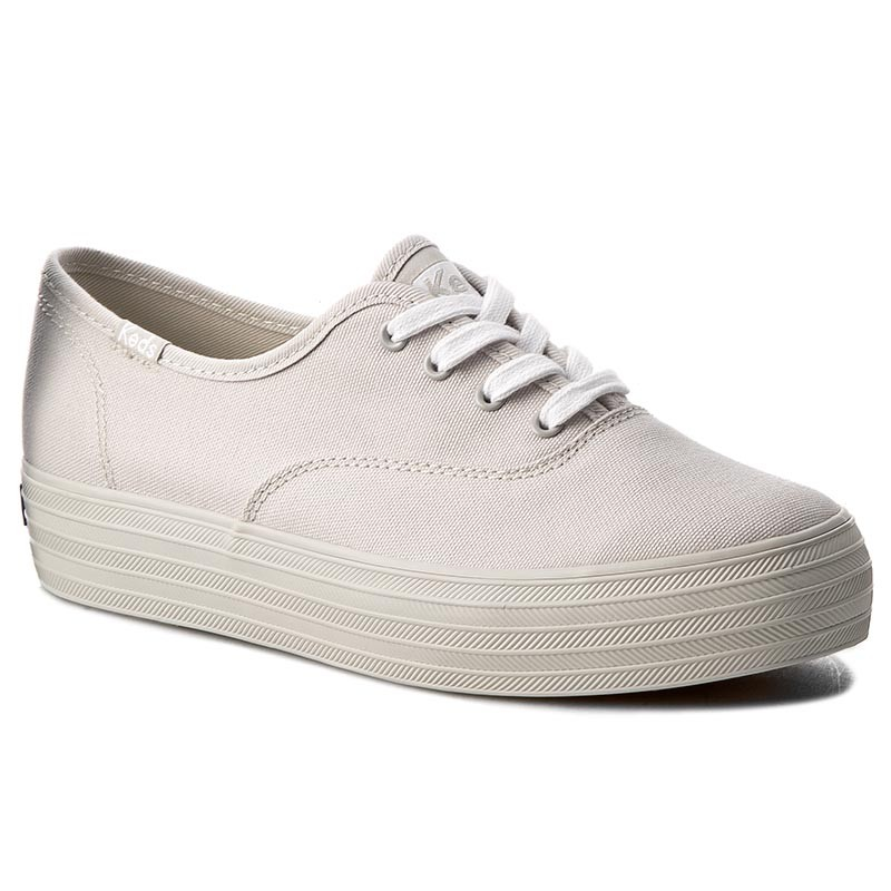 Turnschuhe KEDS-Triple Mono WF56547 Light Grey