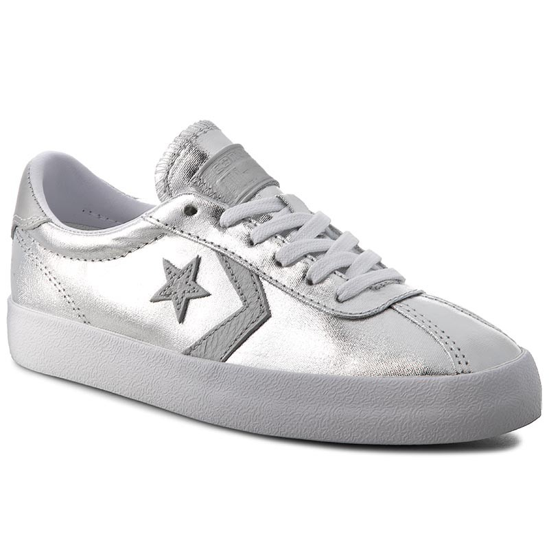 Sneakers CONVERSE-Breakpoint Ox 555949C Pure Silver/White/White