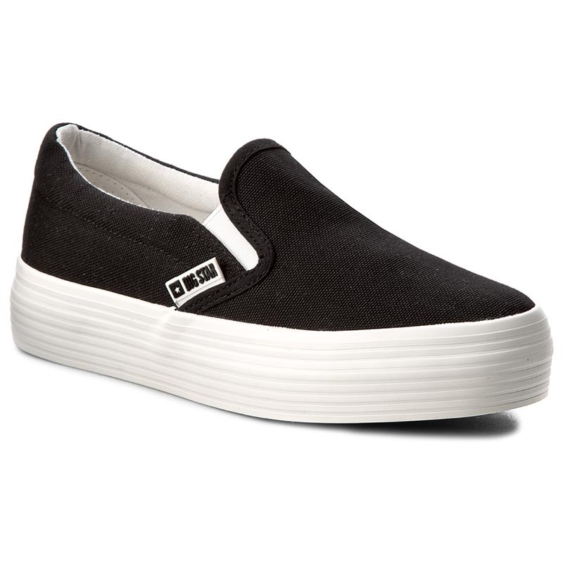 Turnschuhe BIG STAR-W274A602 Black Canvas
