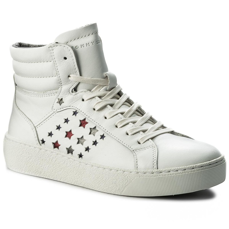 Sneakers TOMMY HILFIGER-Suzie Mid Hg 3A1 FW0FW01705 White 100