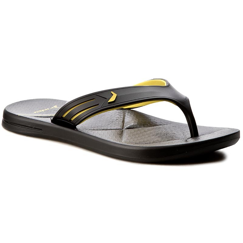 Zehentrenner RIDER-Easy Thong Ad 82026 Black/Yellow 20566
