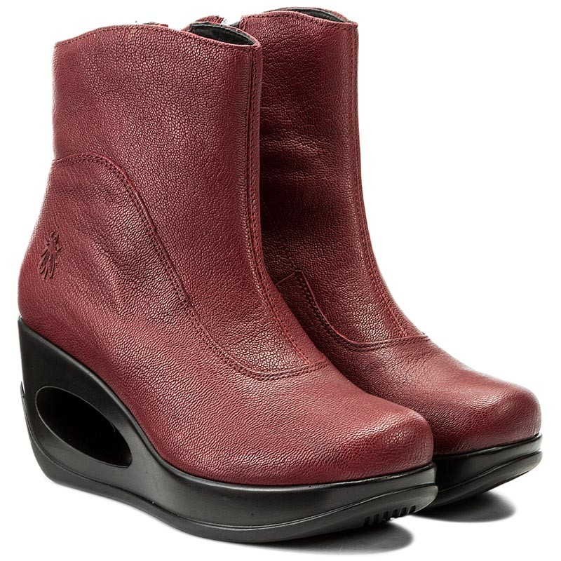 Stiefeletten FLY LONDON-Hepifly P144091002 Cordoba Red
