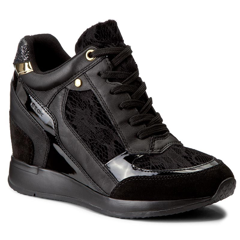 Sneakers GEOX-D Nydame A D540QA 0DS85 C9999 Black