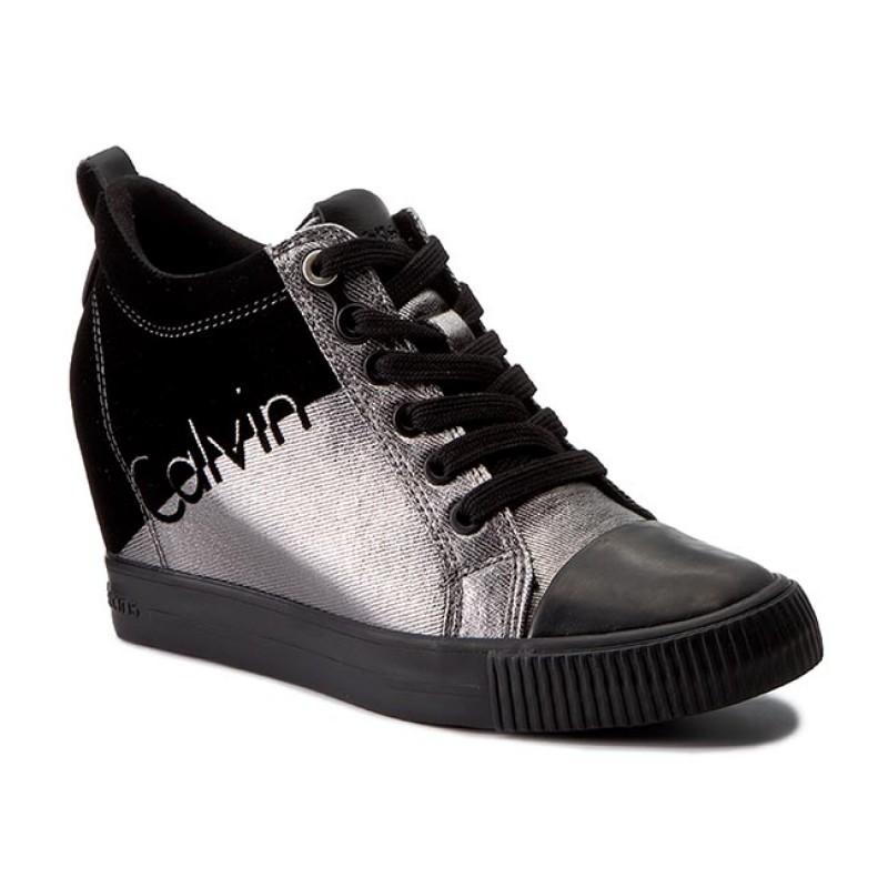 Sneakers CALVIN KLEIN JEANS-Rory R0646 Pewter/Black