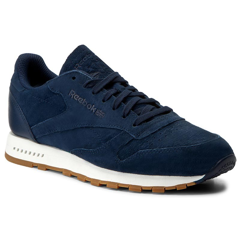 Schuhe Reebok-Cl Leather Sg BD6015 Collegiate Navy/Chalk Gum