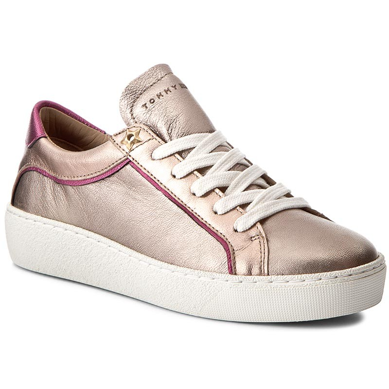 Sneakers TOMMY HILFIGER-Suzie 1A2 FW0FW01680  Candy/Rose Gold/Sand 901