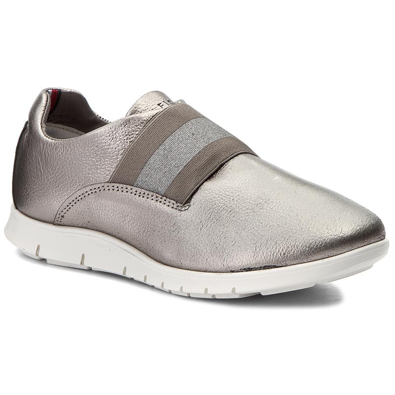 Sneakers TOMMY HILFIGER-Mico 5A1 FW0FW01416  Dark Silver 042