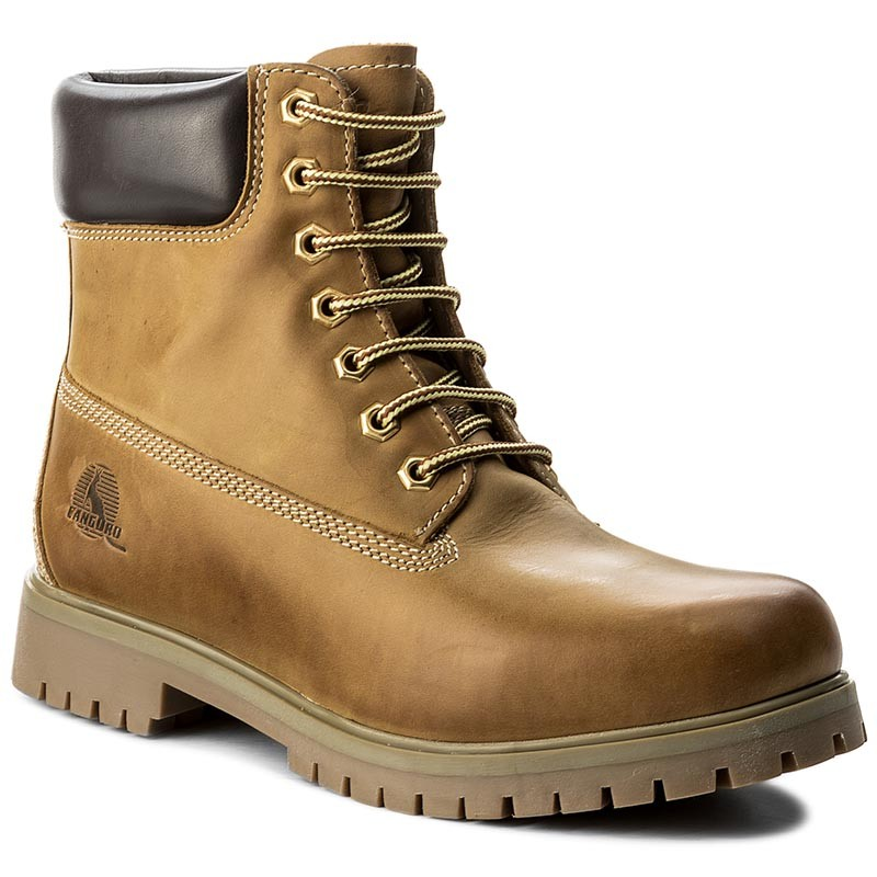 Trapperschuhe CANGURO-A029-300 Yellow/Brown