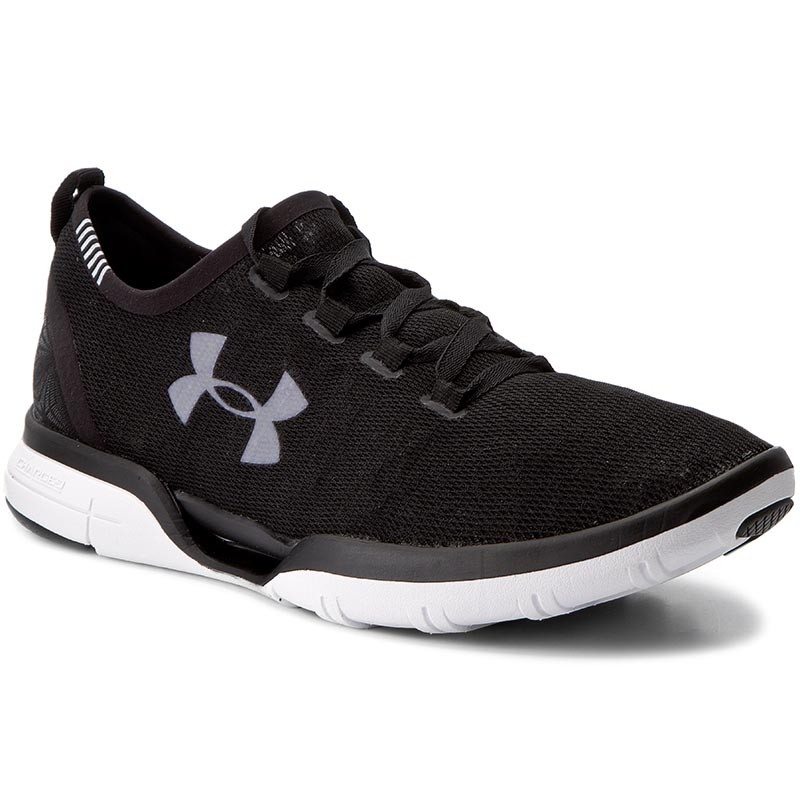 Schuhe UNDER ARMOUR-Ua Charged Coolswitch Run 1285666-001 Blk/Wht/Wht 1