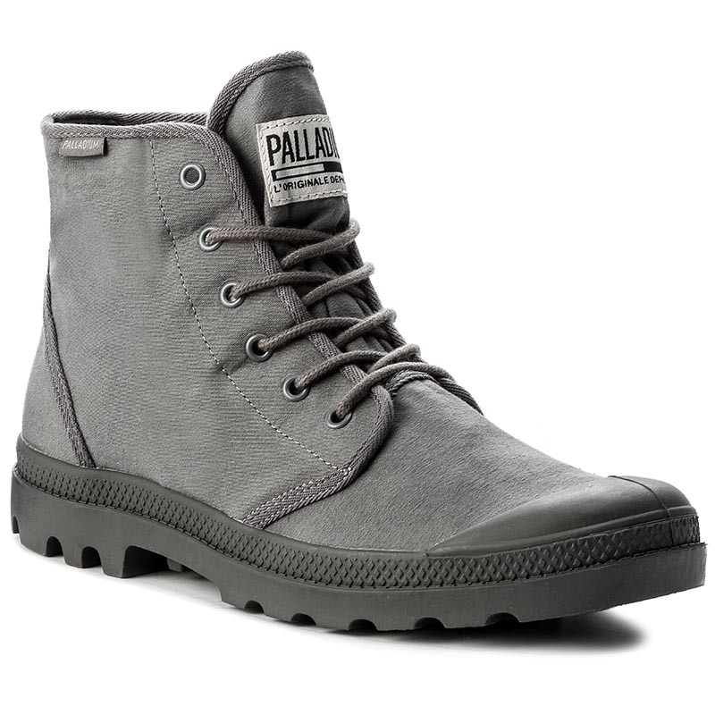 Trapperschuhe PALLADIUM-Pampa Hi Orginale Tc 75554-019-M French Metal/Forged Iron