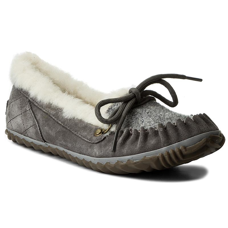 Halbschuhe SOREL-Out N About Slipper NL2431 Quarry/Fawn 052