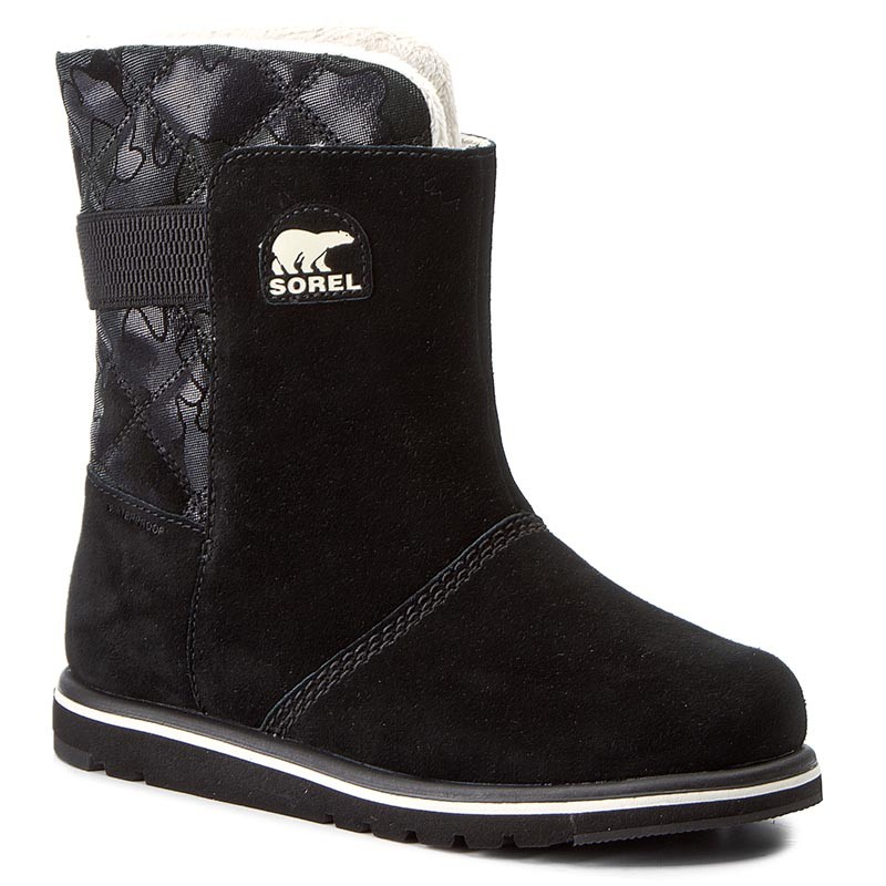 Schuhe SOREL-Youth Rylee Camo NY1900 Black/Light Bisque 010