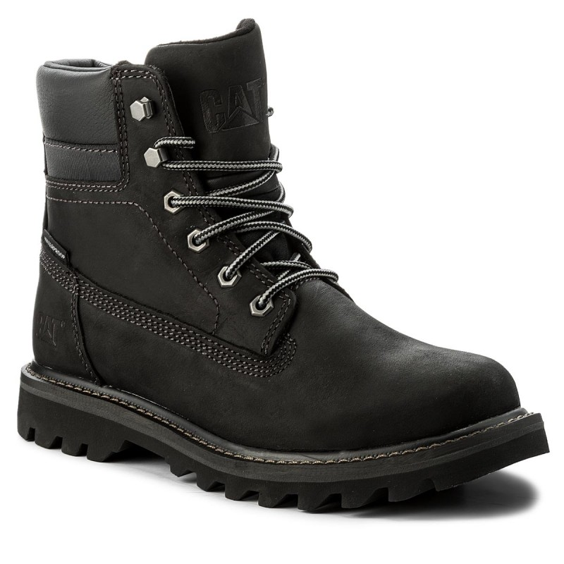Trapperschuhe CATERPILLAR-Deplete Wp P721724 Black