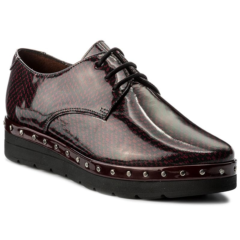 Oxfords HISPANITAS-Atenea-I7 HI76189 Bordo