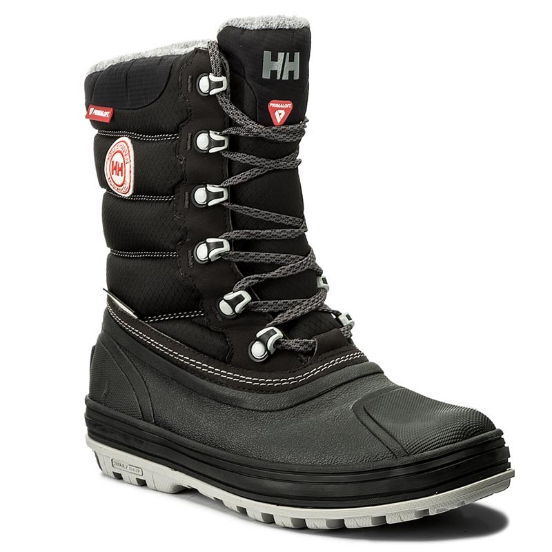 Schneeschuhe HELLY HANSEN-Tundra Cwb 112-32991 Jet Black/Charcoal/Angora/Light Grey