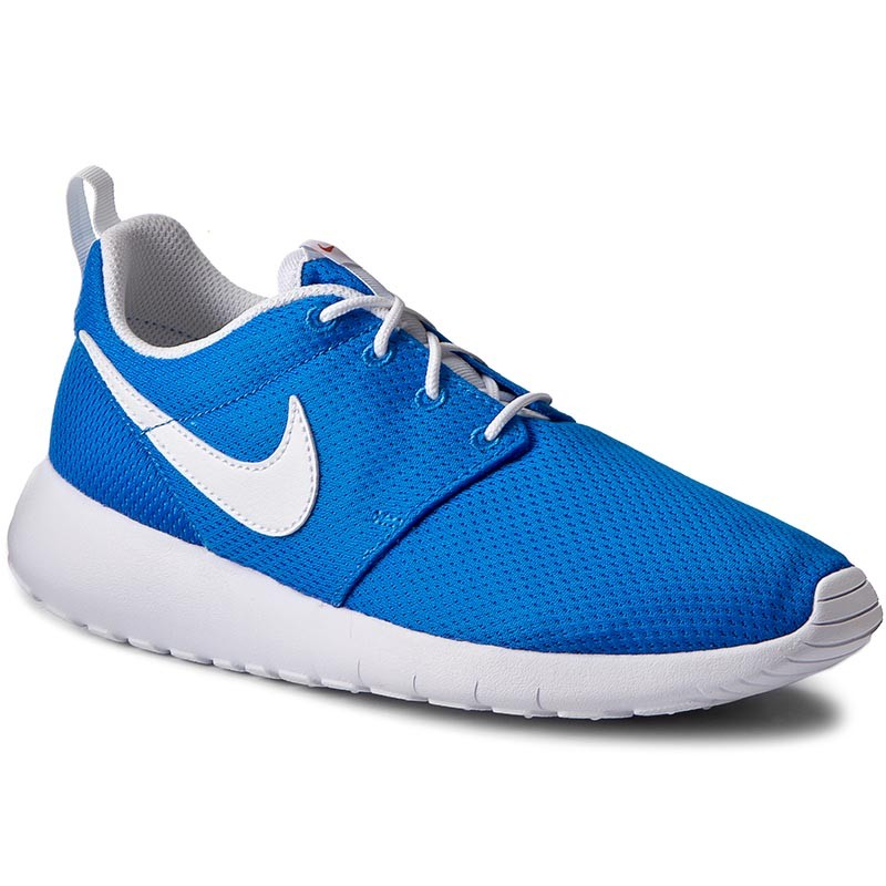 Schuhe NIKE-Roshe One (GS) 599728 422 Photo Blue/White/Safety Orange
