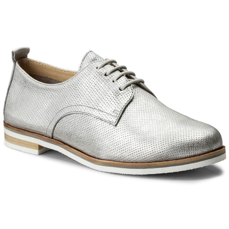 Oxfords CAPRICE-9-23200-20 Silver Metal 920