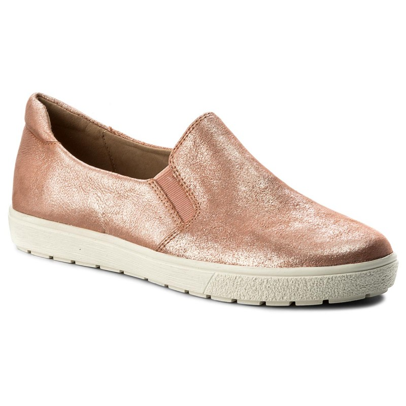 Turnschuhe CAPRICE-9-24662-20 Apricot Metal 650