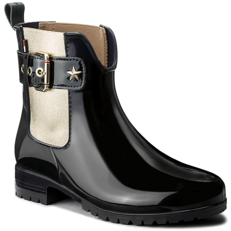 Gummistiefel TOMMY HILFIGER-Oxley 14V2 FW0FW02171  Midnight 403