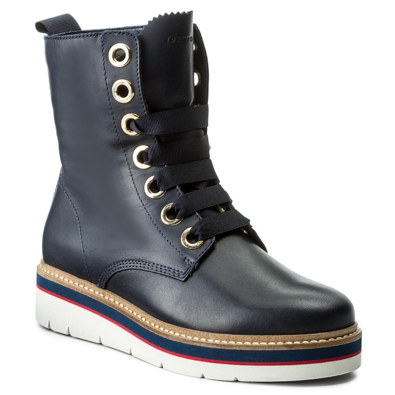 Stiefeletten TOMMY HILFIGER-Manon 3A FW0FW02623 Tommy Navy 406