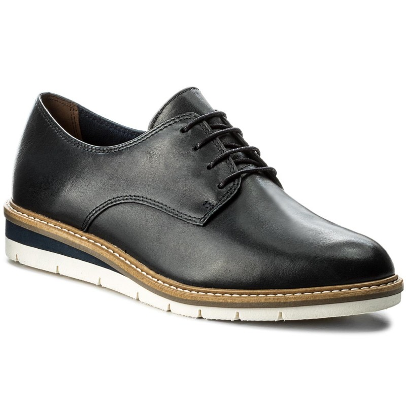 Oxfords TAMARIS-1-23202-20 Navy Leather 848