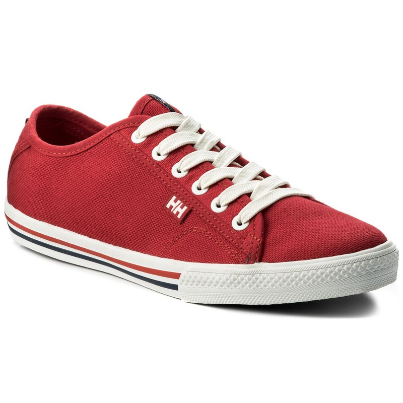 Turnschuhe HELLY HANSEN-Fjord Canvas 107-72110 Flag Red/Off White/Navy