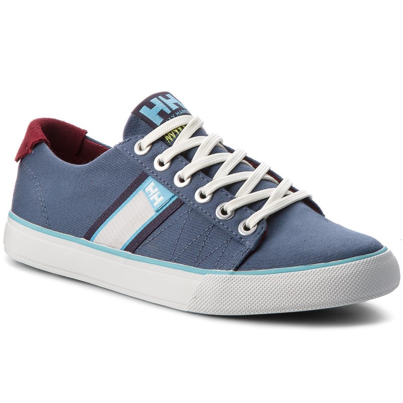 Turnschuhe HELLY HANSEN-Salt Flag F-1 113-02899 Vintage Indigo/Plum/Off White/Aqua Blue