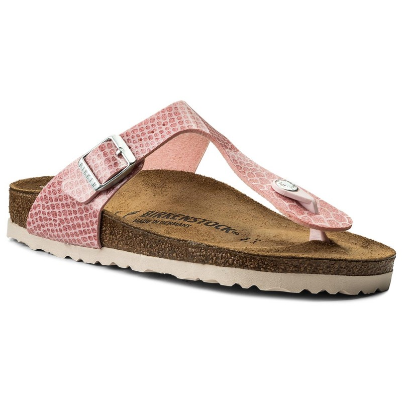 Zehentrenner BIRKENSTOCK-Gizeh Bs 1009122 Magic Snake Rose