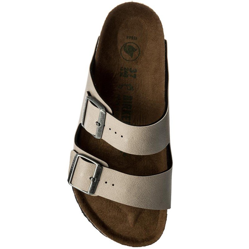 Pantoletten BIRKENSTOCK-Arizona Bs 1009980 Pull Up Stone