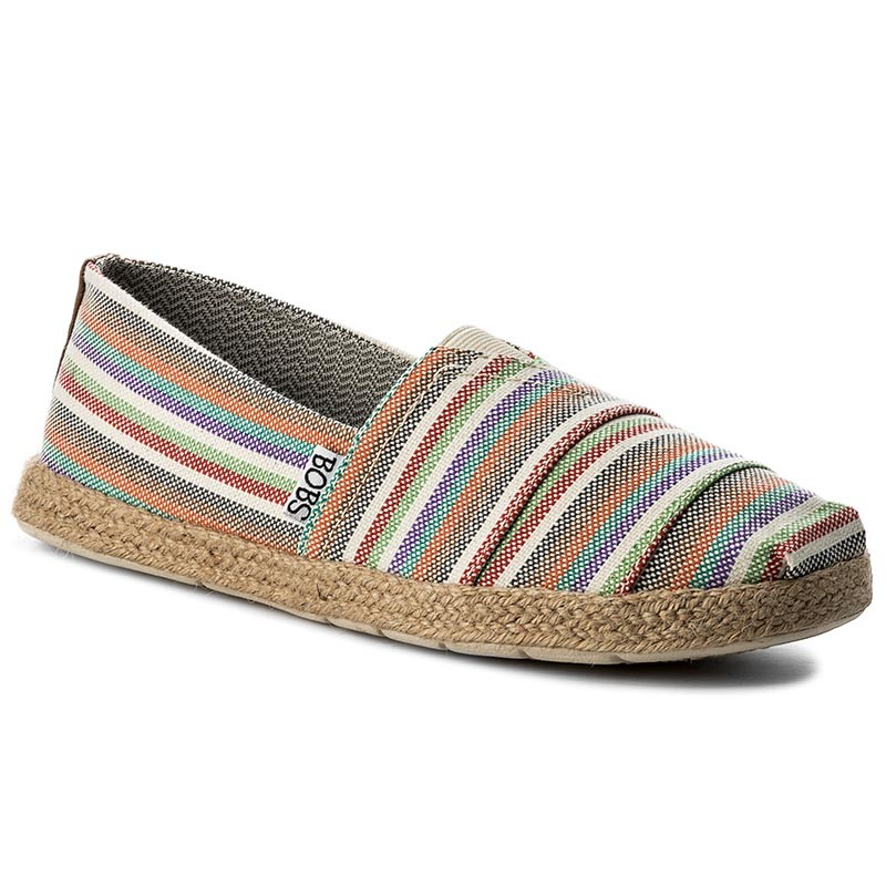 Espadrilles SKECHERS-BOBS Pool Party 33765/NTMT Nat/Multi