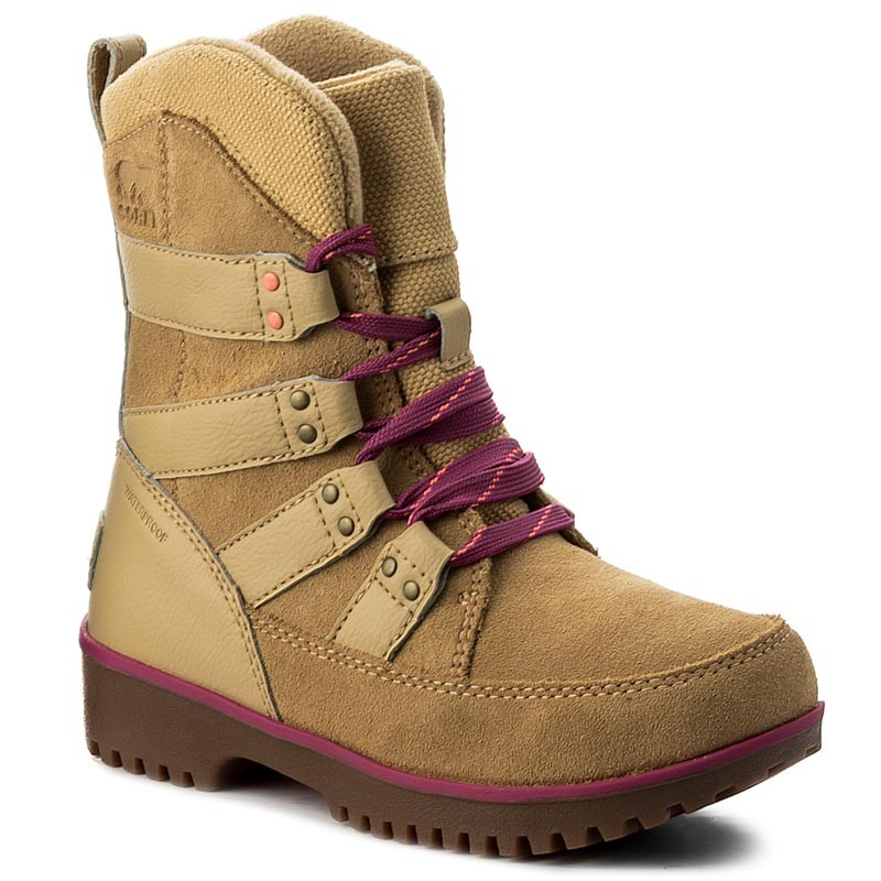 Schneeschuhe SOREL-Youth Meadow Lace NY2414 Curry/Deep Blush 373