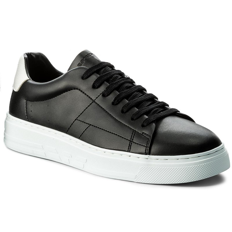 Sneakers EMPORIO ARMANI-X4X226 XL193 A120 Black/Optical White