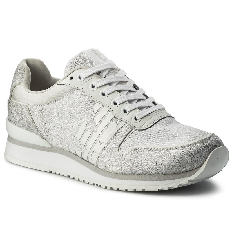 Sneakers EMPORIO ARMANI-X3X049 XL201 A032 OWh/Sil/OWh/OWh/S
