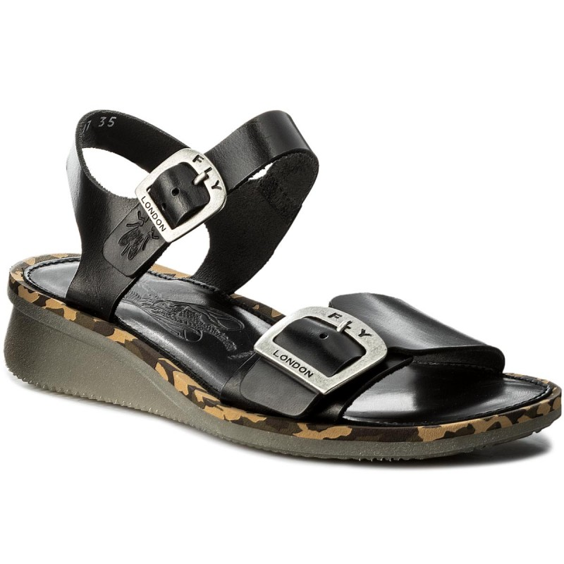 Sandalen FLY LONDON-Combfly P144230000 Black