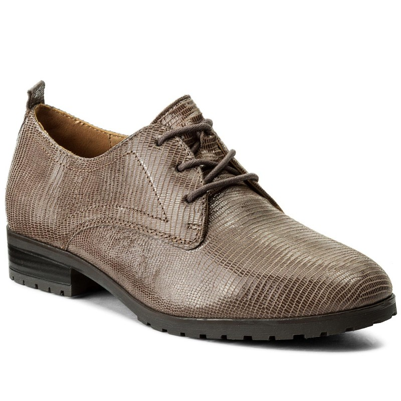 Oxfords CAPRICE-9-23351-29 Taupe Reptile 346