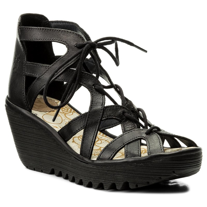 Sandalen FLY LONDON-Yelifly P500719017 Black