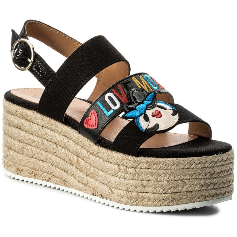 Espadrilles LOVE MOSCHINO-JA16117I15IE0000 Nero